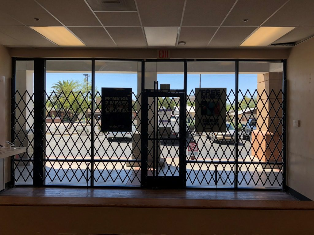 moving gate systems tucson folding security gates