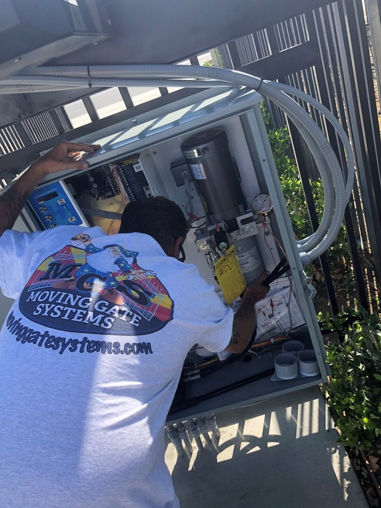 moving gate systems repair service