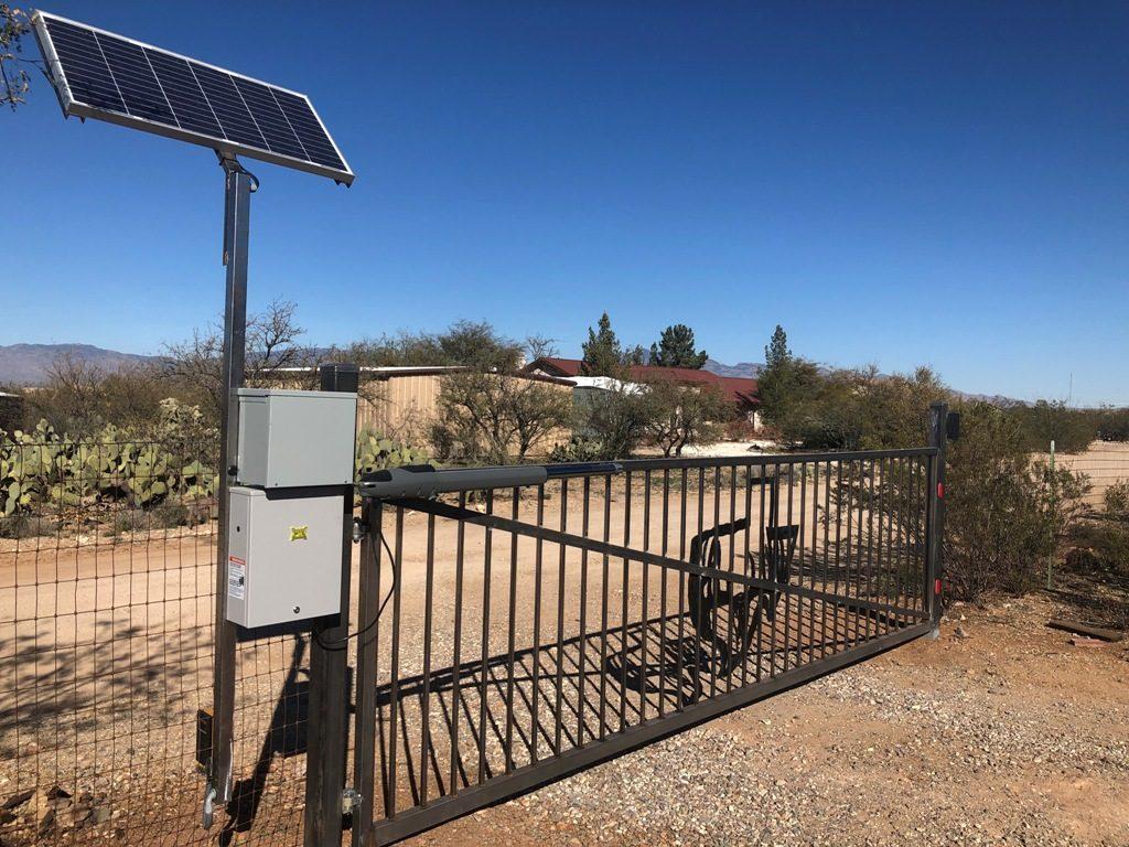 Vail Az Solar pics Maximum controls gate operator