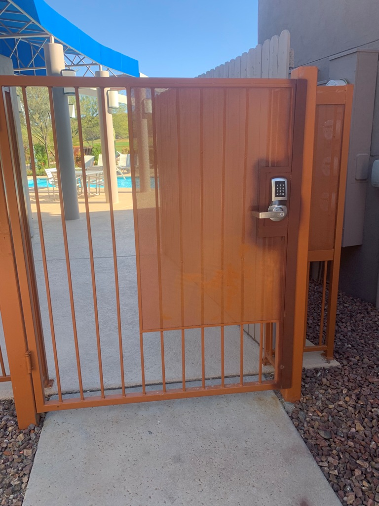 pool gate locks oro valley