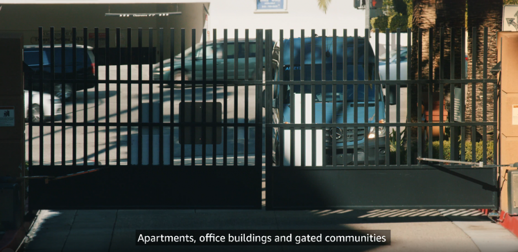 Moving Gate Systems Amazon key for business