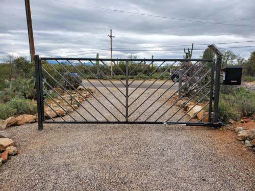 new auto gate install moving gate systems